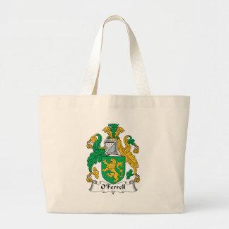 Escudo de la familia de O'Ferrell Bolsa Tela Grande