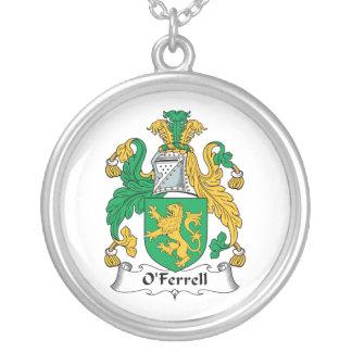 Escudo de la familia de O'Ferrell Colgante Redondo
