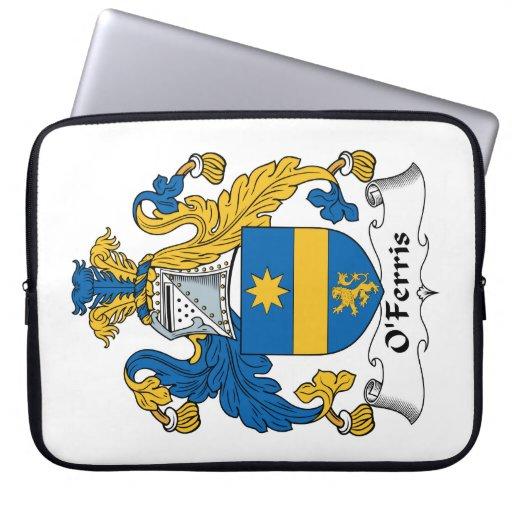 Escudo de la familia de O'Ferris Funda Portátil