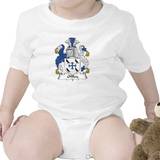 Escudo de la familia de Offley Camiseta