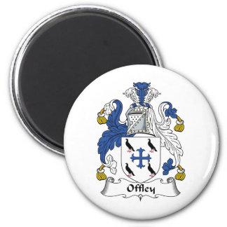 Escudo de la familia de Offley Iman
