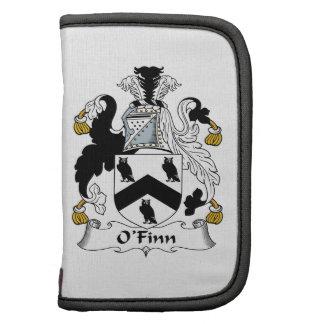 Escudo de la familia de O'Finn Organizadores