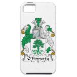 Escudo de la familia de O'Finnerty iPhone 5 Coberturas