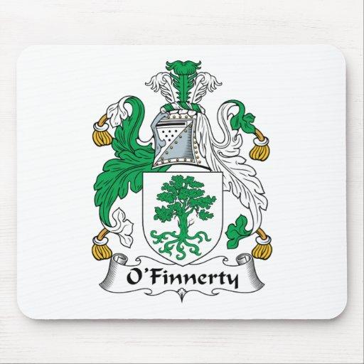Escudo de la familia de O'Finnerty Tapetes De Ratones