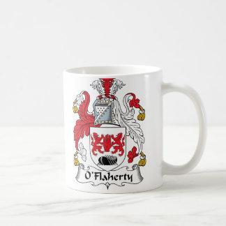 Escudo de la familia de O'Flaherty Taza De Café