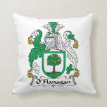 Escudo de la familia de O'Flanagan Almohada