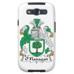 Escudo de la familia de O'Flanagan Samsung Galaxy S3 Cárcasas