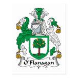 Escudo de la familia de O'Flanagan Postales