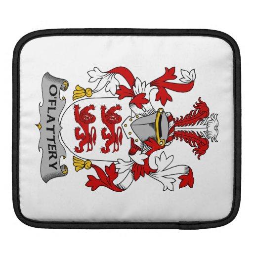 Escudo de la familia de O'Flattery Mangas De iPad