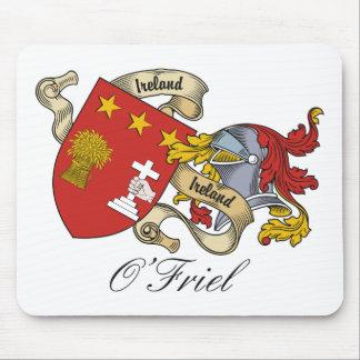 Escudo de la familia de O'Friel Alfombrillas De Raton