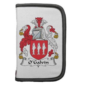 Escudo de la familia de O'Galvin Planificador