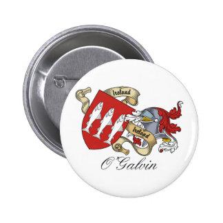Escudo de la familia de O'Galvin Pins