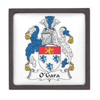 Escudo de la familia de O'Gara Cajas De Regalo De Calidad