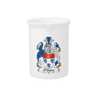 Escudo de la familia de O'Gara Jarras Para Bebida