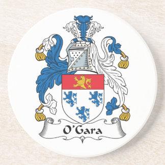 Escudo de la familia de O'Gara Posavasos Diseño