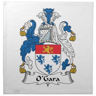 Escudo de la familia de O'Gara Servilleta De Papel