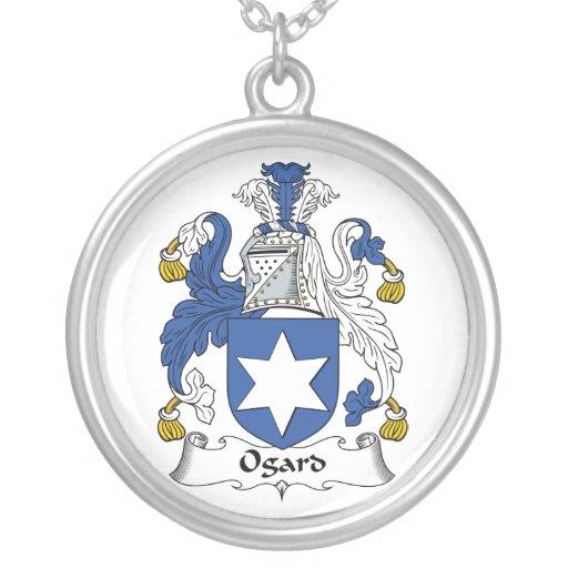 Escudo de la familia de Ogard Joyeria Personalizada