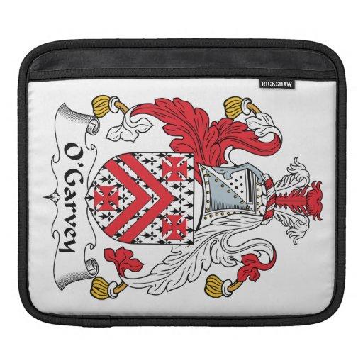 Escudo de la familia de O'Garvey Mangas De iPad