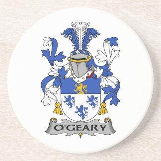 Escudo de la familia de O'Geary Posavasos Diseño