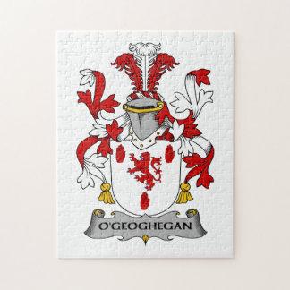 Escudo de la familia de O'Geoghegan Puzzle
