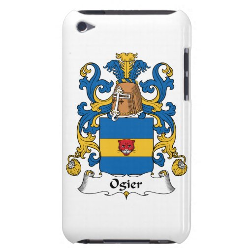 Escudo de la familia de Ogier iPod Touch Case-Mate Fundas