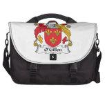 Escudo de la familia de O'Gillen Bolsas Para Ordenador