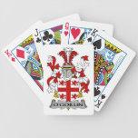Escudo de la familia de O'Goillin Baraja Cartas De Poker