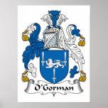 Escudo de la familia de O'Gorman Posters