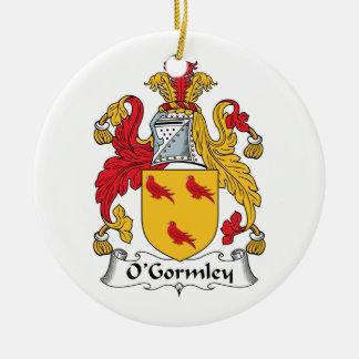 Escudo de la familia de O'Gormley Adornos
