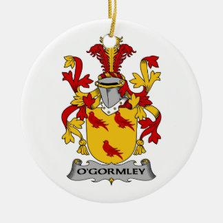 Escudo de la familia de O'Gormley Adorno