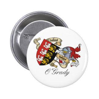 Escudo de la familia de O'Grady Pin