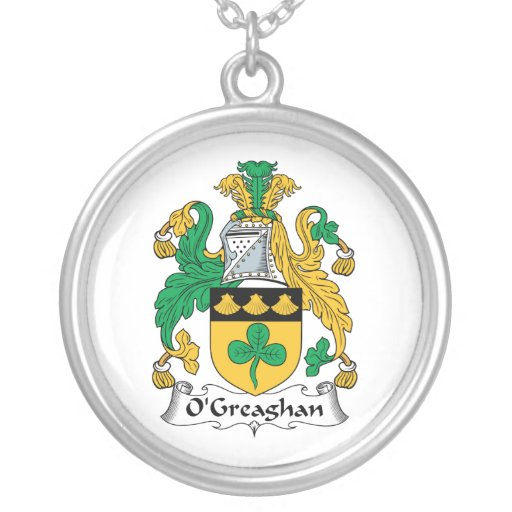 Escudo de la familia de O'Greaghan Grimpola
