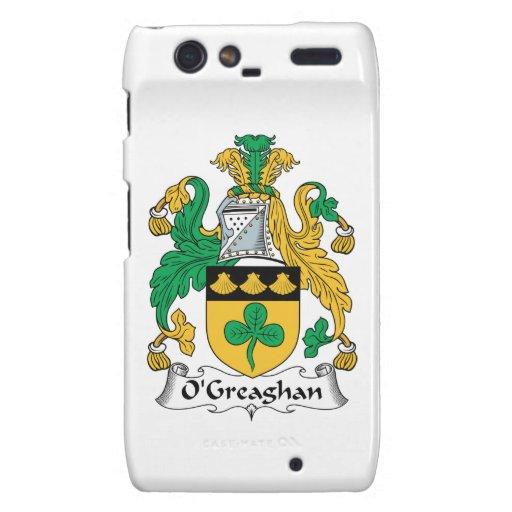 Escudo de la familia de O'Greaghan Droid RAZR Carcasa