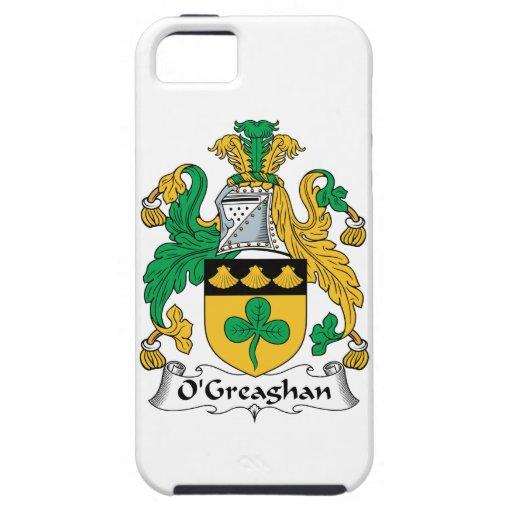 Escudo de la familia de O'Greaghan iPhone 5 Funda