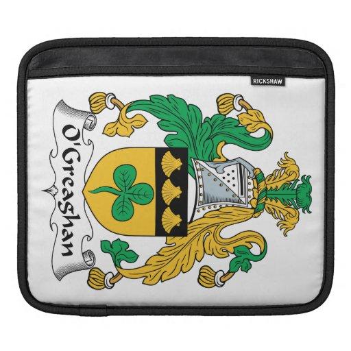 Escudo de la familia de O'Greaghan Mangas De iPad