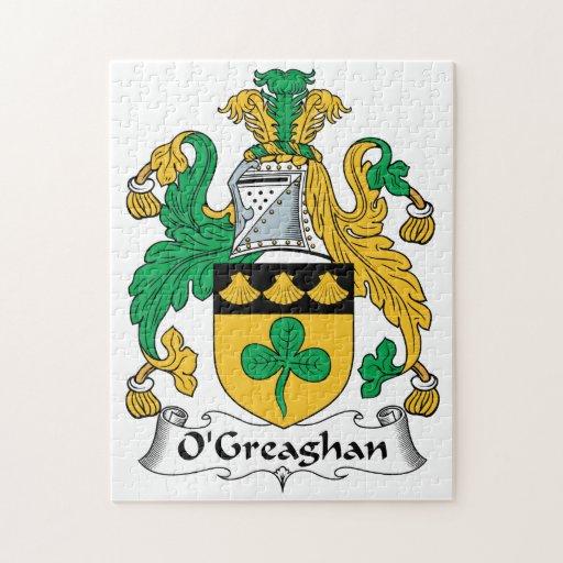 Escudo de la familia de O'Greaghan Puzzles