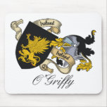 Escudo de la familia de O'Griffy Alfombrilla De Raton