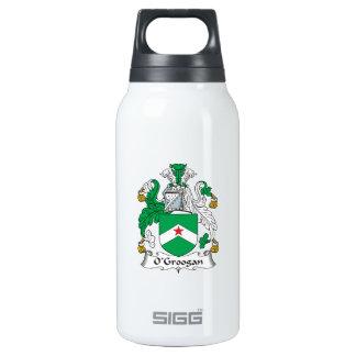 Escudo de la familia de O'Grogan Botella Isotérmica De Agua