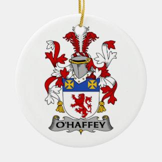 Escudo de la familia de O'Haffey Adorno De Reyes