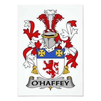 Escudo de la familia de O'Haffey Anuncios