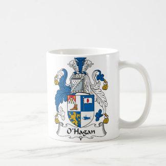Escudo de la familia de O'Hagan Taza