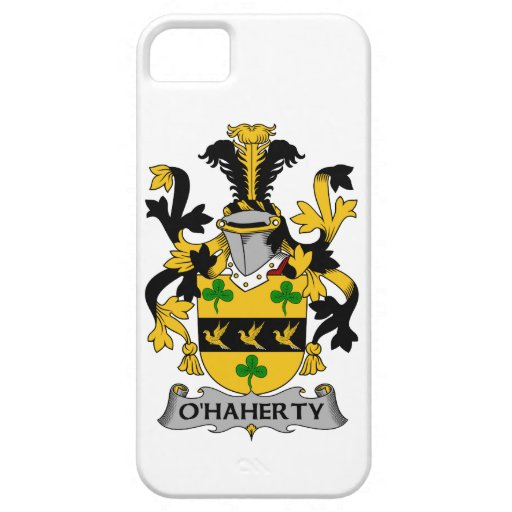 Escudo de la familia de O'Haherty iPhone 5 Carcasa