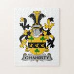 Escudo de la familia de O'Haherty Rompecabezas