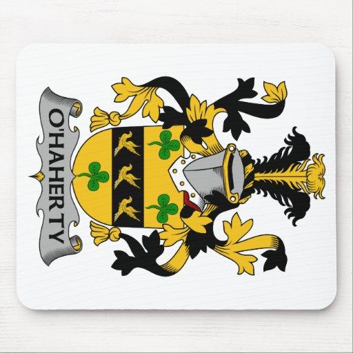 Escudo de la familia de O'Haherty Tapete De Raton