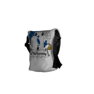 Escudo de la familia de O'Halfpenny Bolsas De Mensajería