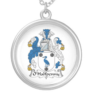 Escudo de la familia de O'Halfpenny Colgante Redondo