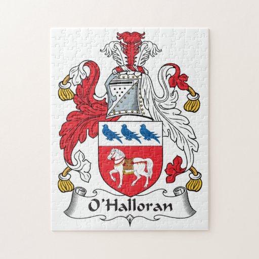 Escudo de la familia de O'Halloran Puzzles Con Fotos