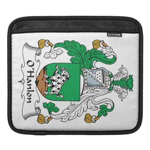 Escudo de la familia de O'Hanlon Funda Para iPads