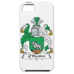 Escudo de la familia de O'Hanlon iPhone 5 Cárcasas