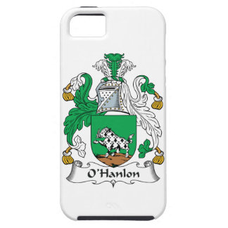 Escudo de la familia de O'Hanlon iPhone 5 Fundas